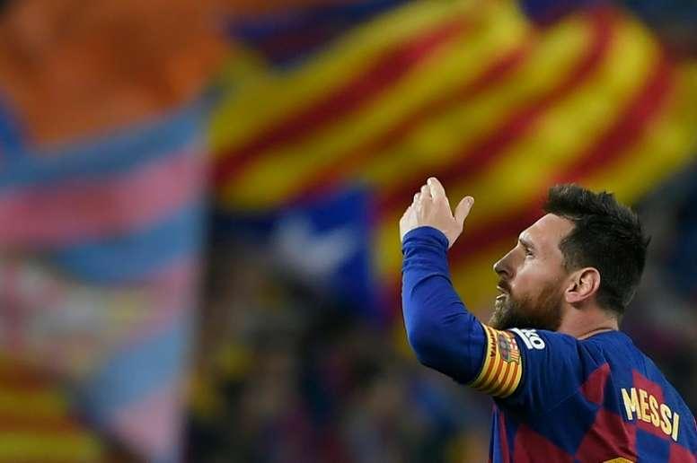 BNiegan la oferta de 200 millones del City por Messi. AFP