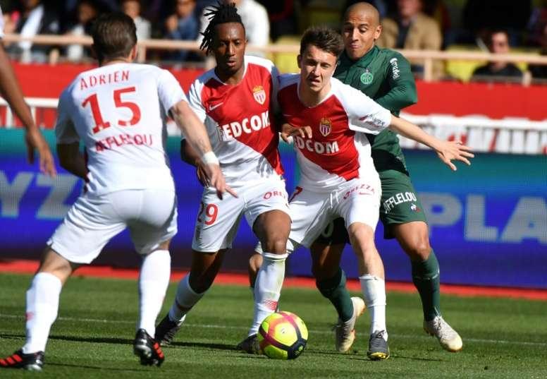 El Mónaco confirmó el fichaje de Gelson y la continuidad de Jardim. AFP