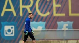 Neto will start the Champions League match v Inter instead of Ter Stegen. AFP