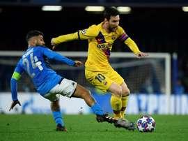 Lineker voltou a falar de Messi. AFP
