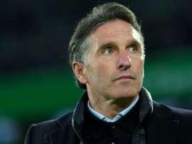 Labbadia quittera Wolfsburg. AFP
