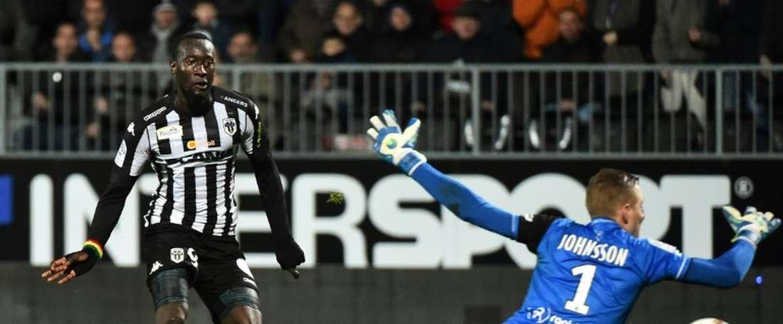 Famara Diedhiou ficha por el Bristol City. AFP
