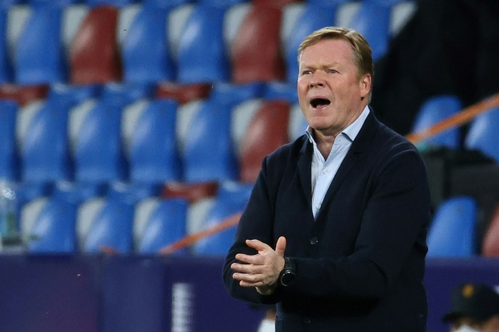 Koeman rejected the chance to sign two players. AFP