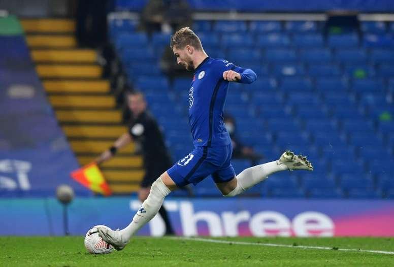 Werner, déjà indispensable à Chelsea. AFP