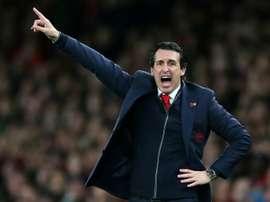 Emery's Arsenal continue unbeaten streak. AFP
