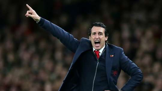 Emery's side are now undefeated in their last 18 games across all competitions. AFP