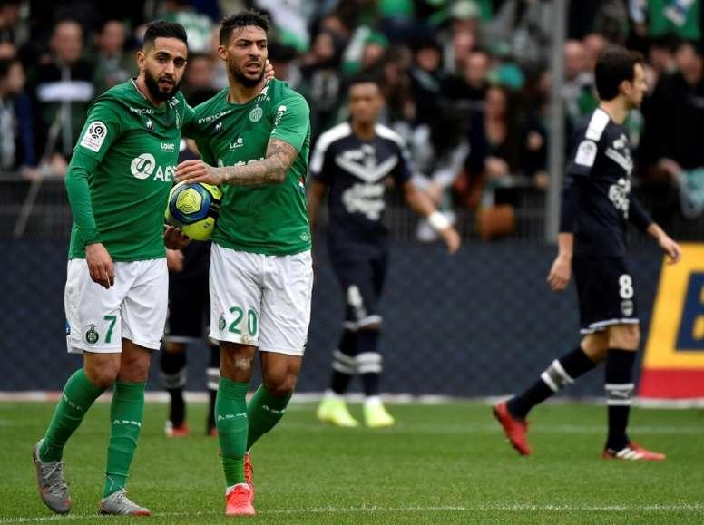 El Saint-Étienne rechaza jugar la final de Copa a puerta cerrada. AFP