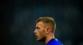 El Arsenal sigue detrás de Max Meyer. AFP