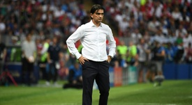 Zlatko Dalic saw his team be easily beaten. AFP