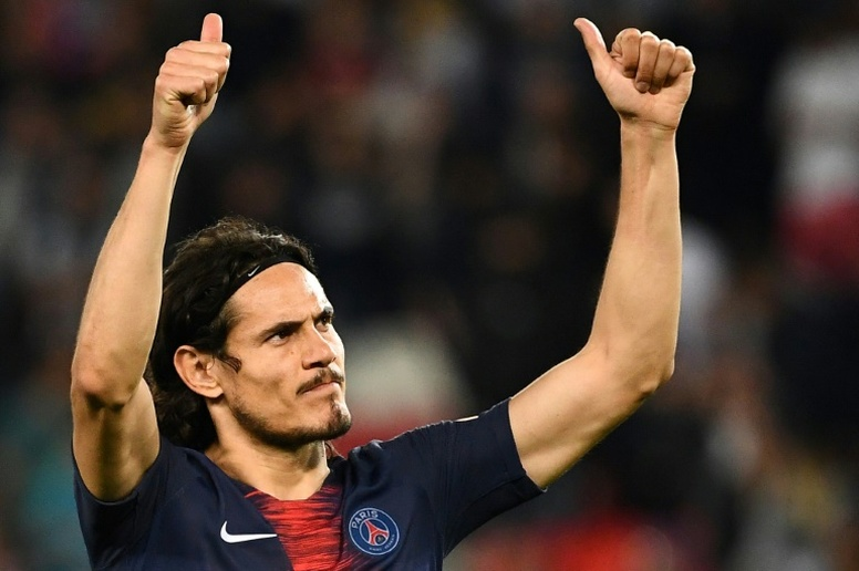 Cavani has been an important player at PSG since arriving in 2013. AFP