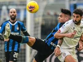 L'Inter toujours au ralenti, le derby de Rome sans vainqueur. AFP
