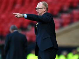 Alex McLeish limogé. AFP