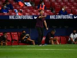 Alavés limoge son entraîneur Asier Garitano. AFP