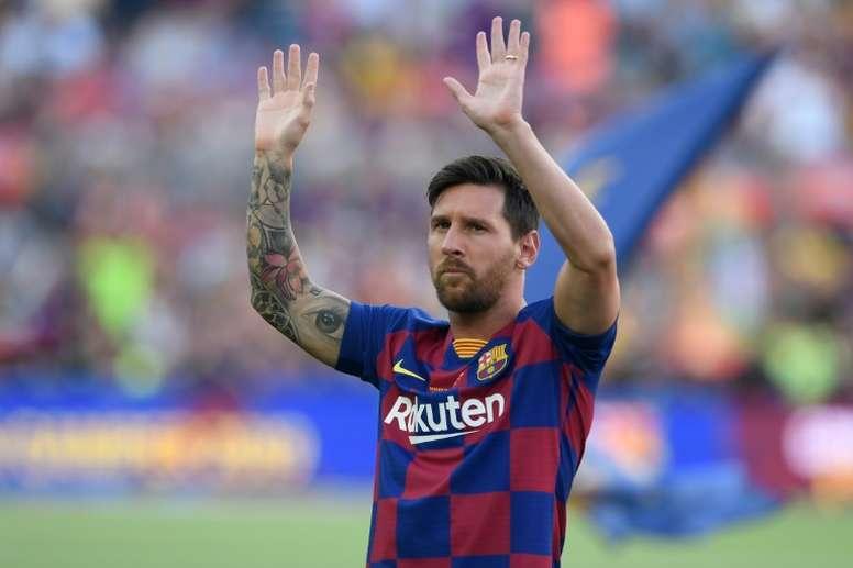 Messi se mantiene siempre que puede al margen de polémicas extradeportivas. AFP/Archivo