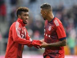Coman et Boateng disponibles pour le Bayern contre Barcelone. afp