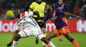 Le joueur de Lyon Tanguy Ndombélé. AFP
