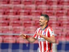 Pour Simeone, Suarez et Costa peuvent jouer ensemble. AFP