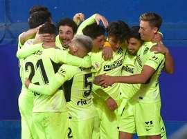 L'Atlético s'en sort encore à Eibar. afp