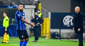 Vidal misses life or death clash against Shakhtar. AFP