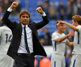 Conte quiere refuerzos para la delantera tras la salida confirmada de Diego Costa. AFP
