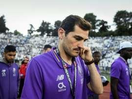 Casillas s'est confié sur la reprise du football. AFP