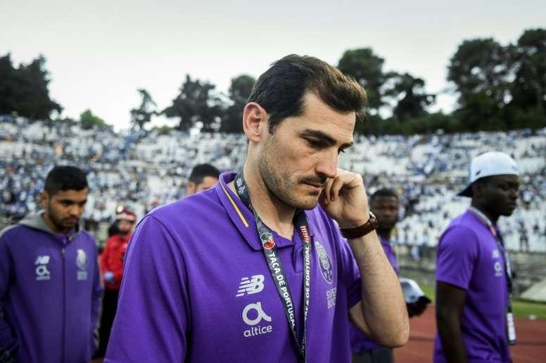 Casillas veut briguer la présidence de la Fédération espagnole. AFP
