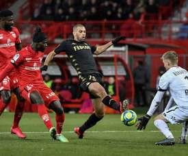 Monaco freiné à Dijon. AFP