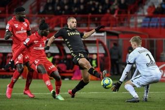 Les compos probables du match de Ligue 1 entre Monaco et Reims. AFP