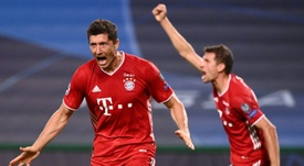 Robert Lewandowski marcou 15 gols na Champions League. AFP