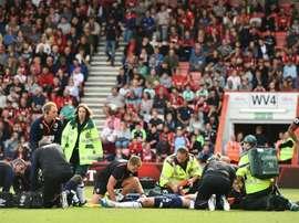 Keane a une fracture du crâne. AFP