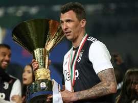 Mandzukic deixa Juventus e assina com clube do Catar. AFP