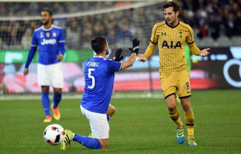 Tottenham se rend à Turin. AFP