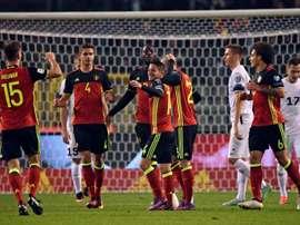La Belgique s'est amusée face à l'Estonie dans le sillage de Mertens en qualifs du Mondial. AFP