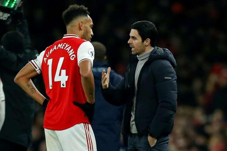 Arsenal joue sa dernière carte pour la Champions League. AFP