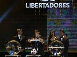 Groc choc en Copa Libertadores. AFP