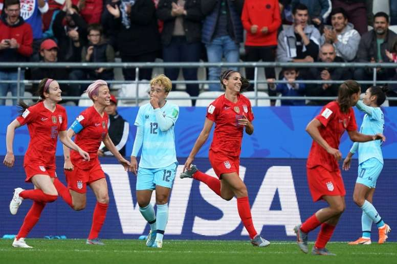 Les critères d'accès aux 8es du Mondial féminin. AFP