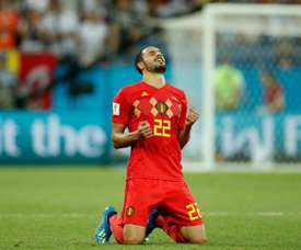 Nacer Chadli scored the winning goal against Japan for Belgium. AFP