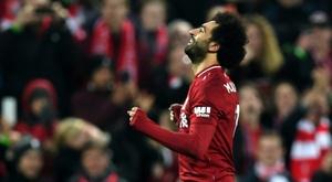 Salah peut tout faire. AFP