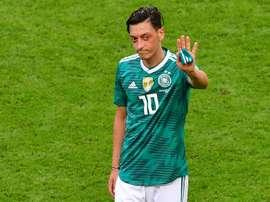 Ozil non giocherà più con la maglia tedesca. AFP