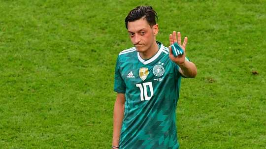 Özil dejó la Selección Alemana. AFP