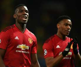 Pogba's agent was tight-lipped regarding his player's future. AFP
