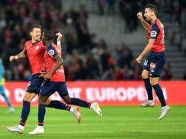 Lille bat Nantes 2-1. AFP