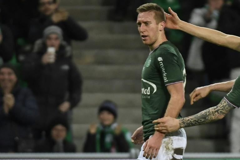 Ligue 1 - Beric maintient les Verts dans la course à l'Europe