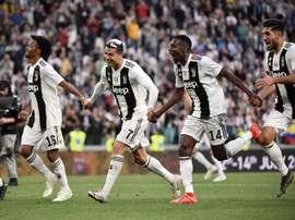 Le groupe de la Juventus pour l'International Champions Cup. AFP
