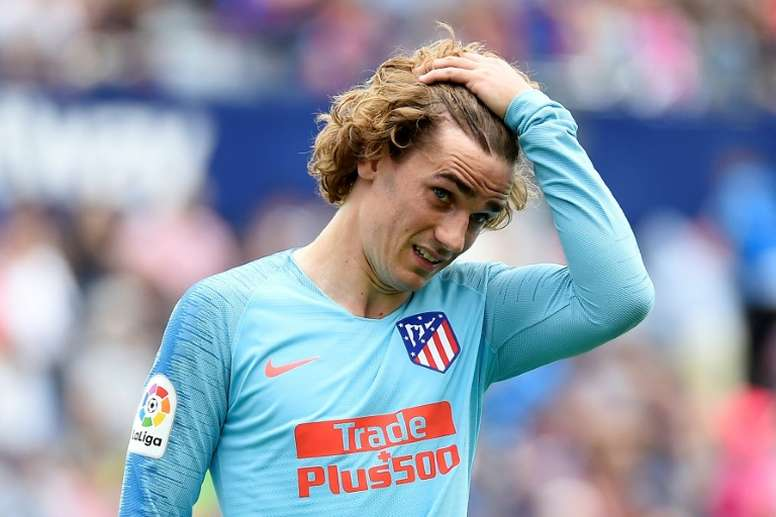 Atlético have responded to Griezmann and Barcelona. EFE/Archivo