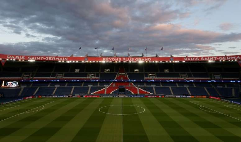 PSG fans were allowed in to watch. AFP