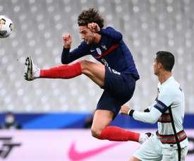 Rabiot jogou os 90 minutos contra Portugal. AFP