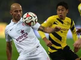 El jugador regresa a Colombia para finalizar su carrera deportiva en el equipo de sus amores. AFP