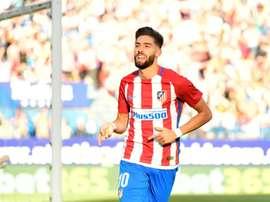 Carrasco a baissé son salaire pour revenir à l'Atlético. AFP