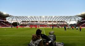 Les compos officielles du match de barrages retour de Ligue 1 entre Dijon et Lens. AFP